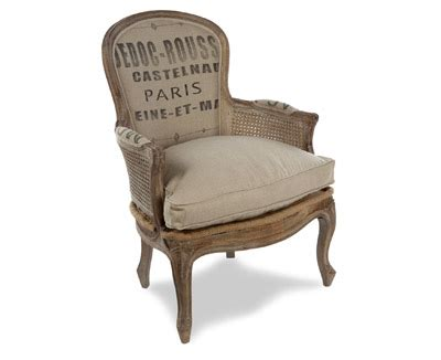 Sack Chair by Inspiration Vintage Grain Sack Chairs