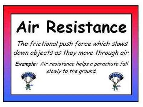 what is the meaning of resistance of a resistor forces vocabulary definition posters