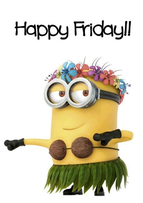 Happy Friday by Minions Happy Friday Quotes Quotesgram