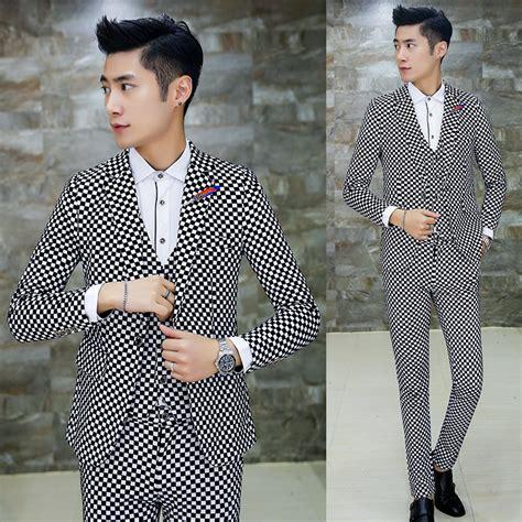 fashion style plaid suit casual aliexpress buy 3pcs 2017 autumn winter suit