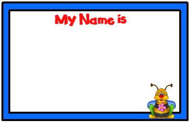 Search For Free By Name Search Results For Free Kindergarten Desk Name Tags Calendar 2015