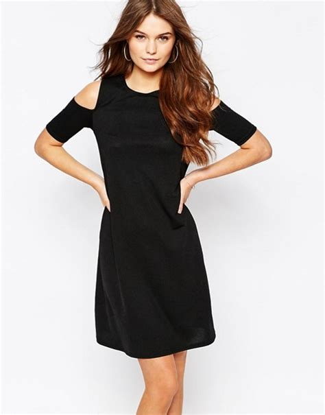 new look swing dress new look new look cold shoulder swing dress