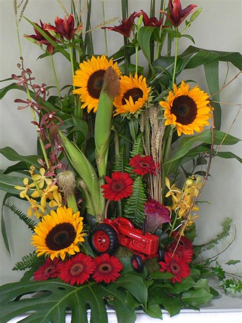flower arrangement pictures with theme 17 best images about funeral themes on pinterest
