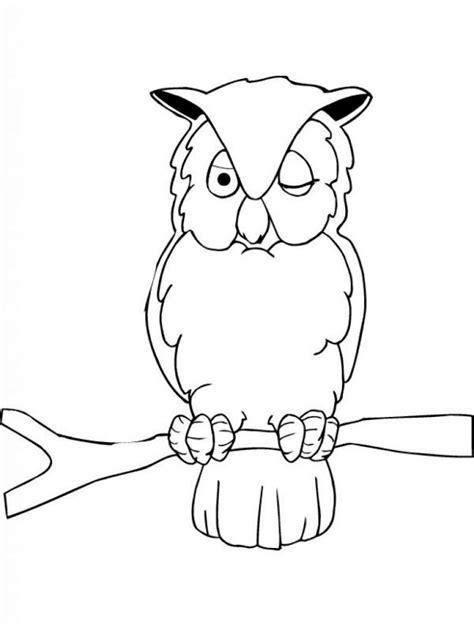 dibujo de buho para colorear dibujos de b 218 hos para colorear y pintar