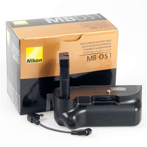 Harga Battery Grip by Battery Grip Mb D51 For Nikon D5100 Black
