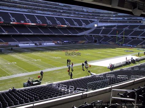 Soldier Field Media Deck by Soldier Field Section 243 Chicago Bears Rateyourseats