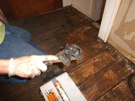 how to remove 1930 s linoleum glue from 1900 s wood floors