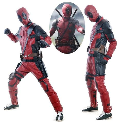 disfraces dead pool disfraces originales para hombres carnaval 2016 deadpool