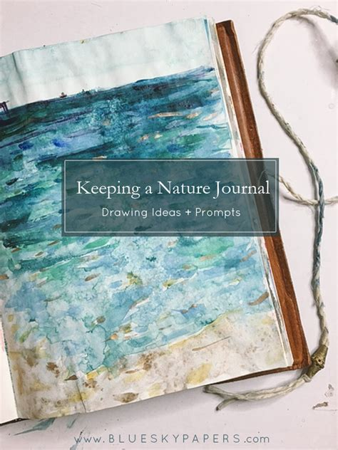 libro keeping a nature journal the blue sky papers blog page 2 of 93 wedding and event planning info handmade keepsakes