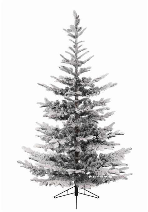 snowiest fake tree 9ft snowy nobilis fir like artificial tree garden world
