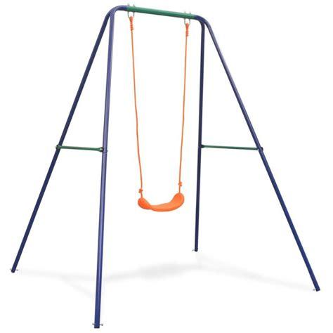 Balancoire Simple by Vidaxl Balan 231 Oire Simple Orange Jeux Et Jouets Plein Air