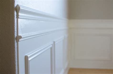 Wainscoting Around Corners by How To Diy Wainscoting The Created Home
