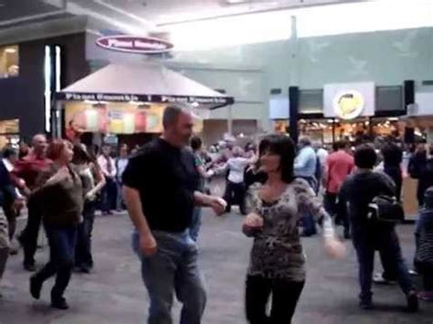 swing dance asheville west coast swing flash mob dance at the asheville mall 1