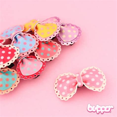 8 Kawaii Accessories buy plastic ribbon hairclip wholesale kawaii distribution