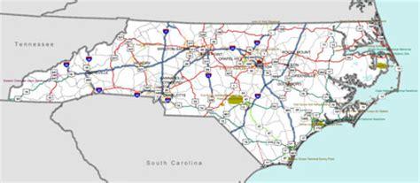 map of carolina highways map carolina interstate
