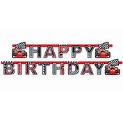 Roary The Racing Car Happy Birthday Banner
