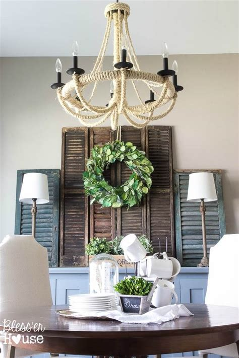 Decorating Ideas Using Shutters 34 Best Shutter Decoration Ideas And Designs For 2017