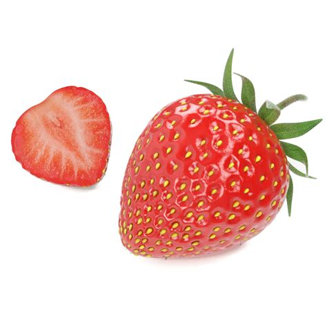 3d 3 Strawberry strawberries 3d max