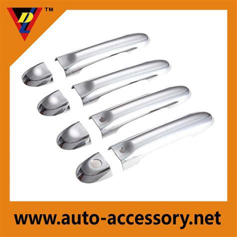 Handle Nissan March By Ajos abs chrome door handle cover trims for cube micra march