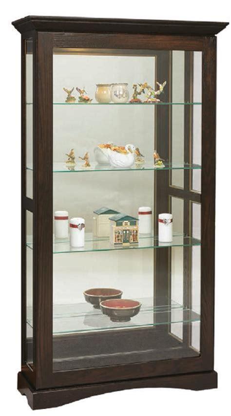 Sliding Door Curio Cabinet Mission Sliding Door Curio Cabinet