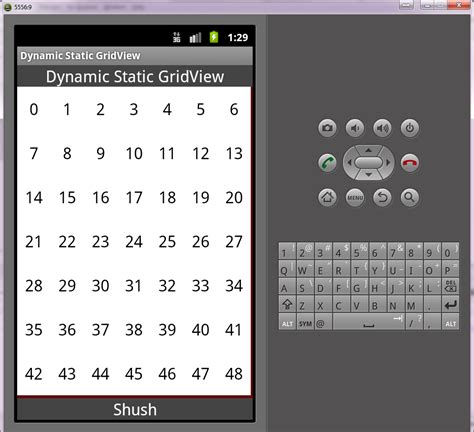 gridview layout in android exle gridview sethorizontalspacing android code exles codota