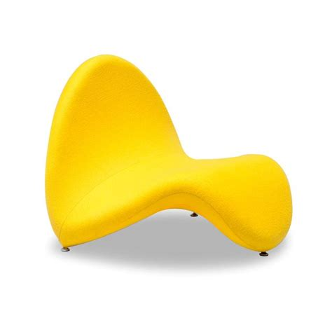 yellow chaise 17 best images about post modernist design on pinterest