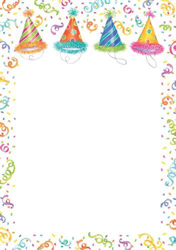 blank birthday invitations bagvania invitations ideas