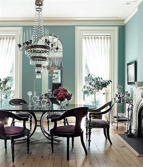 coastal blue dining rooms the paint colors for every room in the house popsugar home
