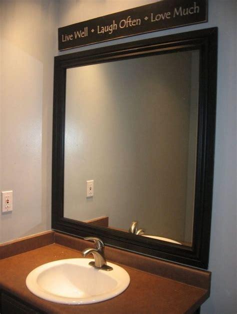 Black Oval Bathroom Mirror by Best 25 Oval Bathroom Mirror Ideas On Half