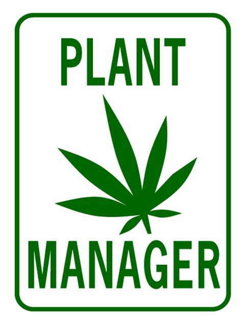 plant manager description pot plant manager signxing
