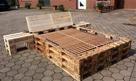 diy pallet bed frame diy pallet picture frame unit pallet furniture