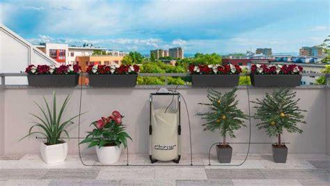 irrigazione balcone senza rubinetto orto sul terrazzo i sistemi di irrigazione
