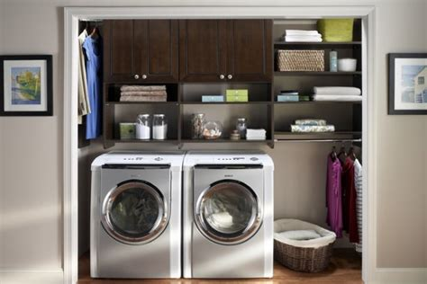 Laundry In Closet by Elite Closets Laundry Various