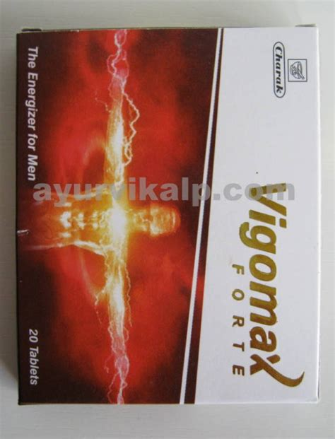 charak vigomax forte tablet natural male enhancement