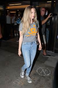 amanda seyfried in jeans amanda seyfried in jeans at lax in los angeles gotceleb