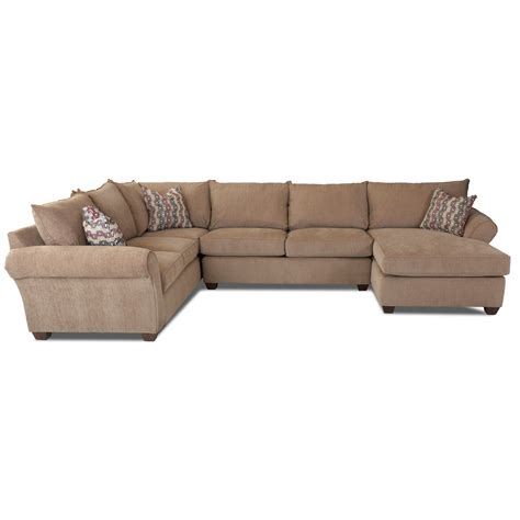 klaussner sectional sofa klaussner fletcher transitional sectional sofa johnny