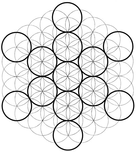 doodle cubes meaning sacred geometry chemical marriage