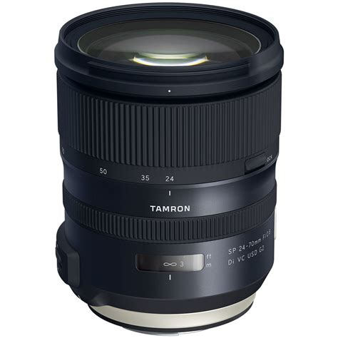 tamron sp 24 70mm f 2 8 di vc usd g2 lens for canon