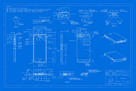 blue prints the iphone 5 blueprint equipment world construction