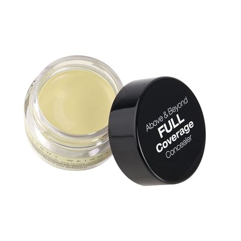Nyx Coverage Concealer nyx cosmetics coverage concealer jar yellow