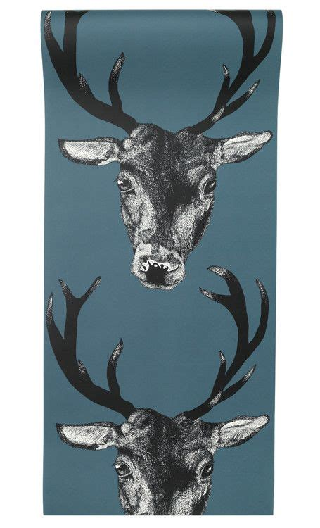 stag wallpaper grey stag wallpaper teal graduate collection graduate