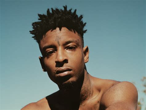 21 savage shares story of forehead tattoo hiphopdx