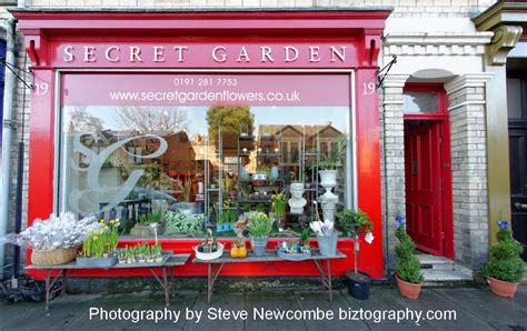 Secret Garden In Jesmond Gets A Virtual Tour Garden Flower Shop