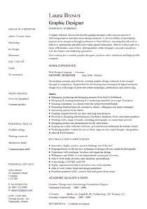 Graphic Design Skills Resume Graphic Design Objective Resume Graphic by Creative Graphic Resume Designs Recentresumes