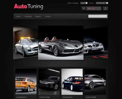60 Fantastic Automobile Car Dealer Website Templates Automotive Website Templates