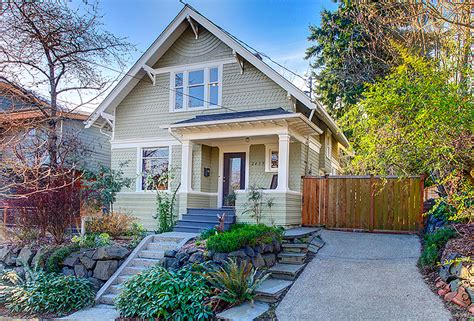 craftsman home listed in seattle pi real estate