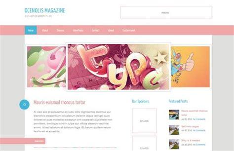 blogger themes tumblr free 25 free feminine blog wordpress theme for female blogger