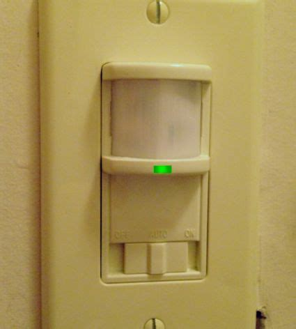how does a motion sensor light switch work how does a light switch work