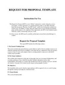 rfp templates request for template http webdesign14
