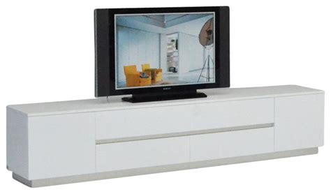 contemporary lacquered tv wall units with white theme in vig furniture ak588 230 white crocodile textured lacquer
